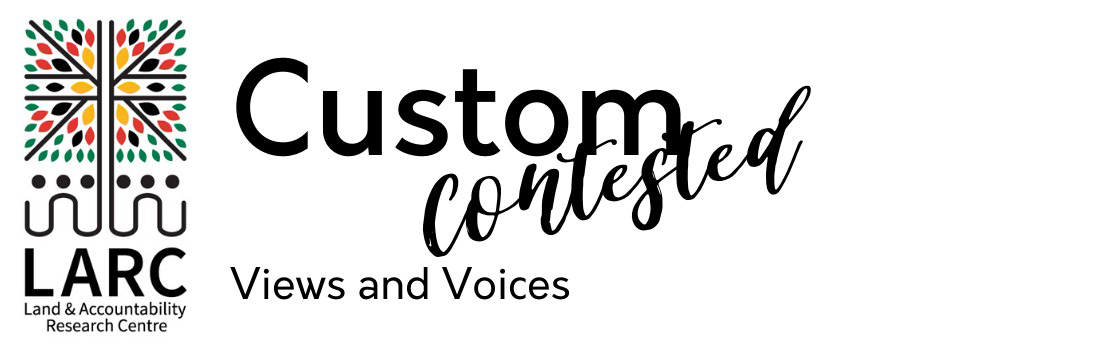 Custom Contested Views & Voices
